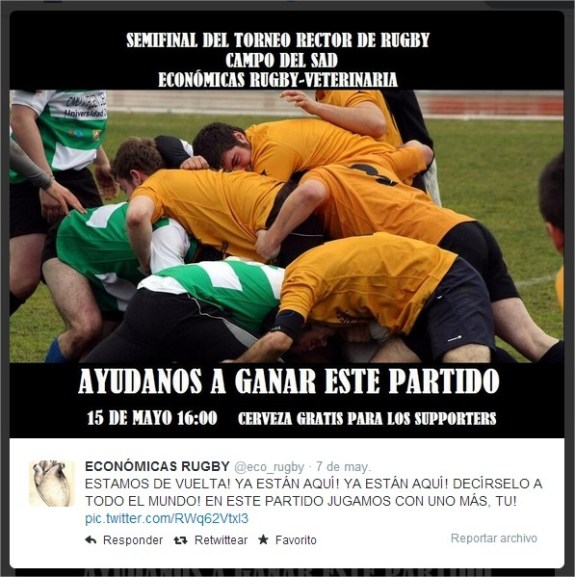 Twitter  @eco_rugby