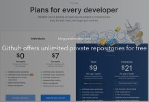 Github offers unlimited private repositories for free