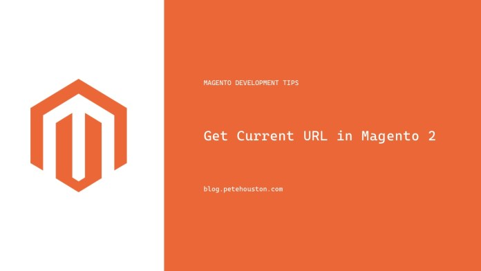 Get Current URL in Magento 2