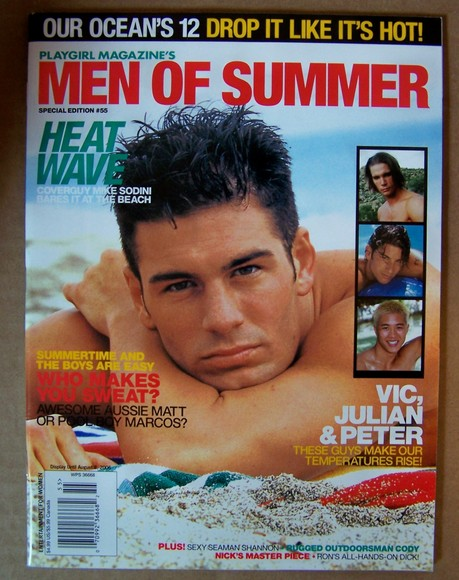 Playgirl Men of Summer