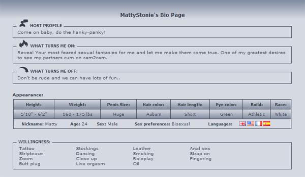 MattyStonie-Bio