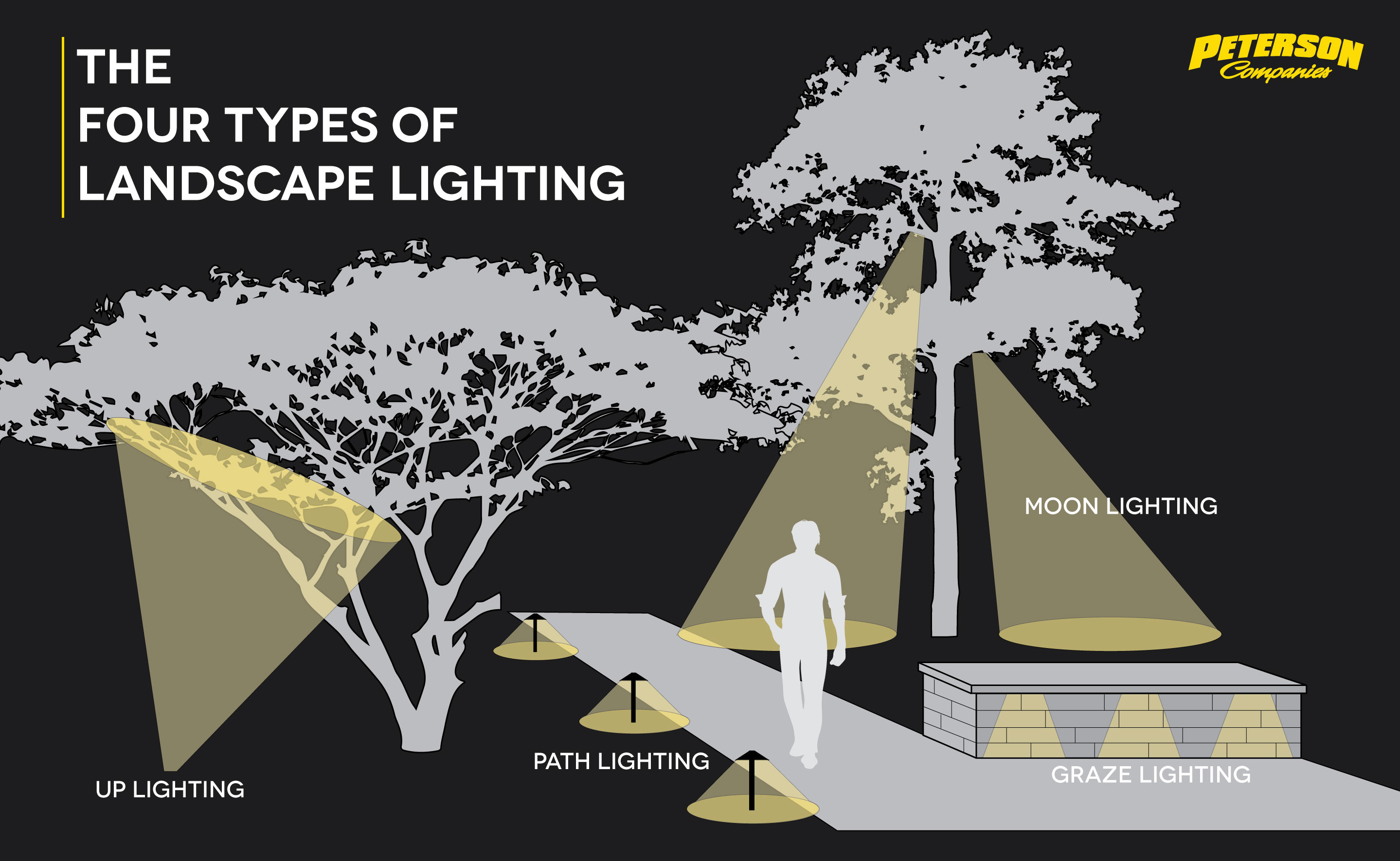 The Four Types Of Landscape Lighting