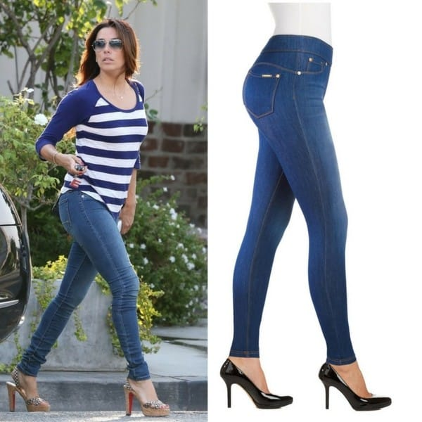 Petite high waisted jegging
