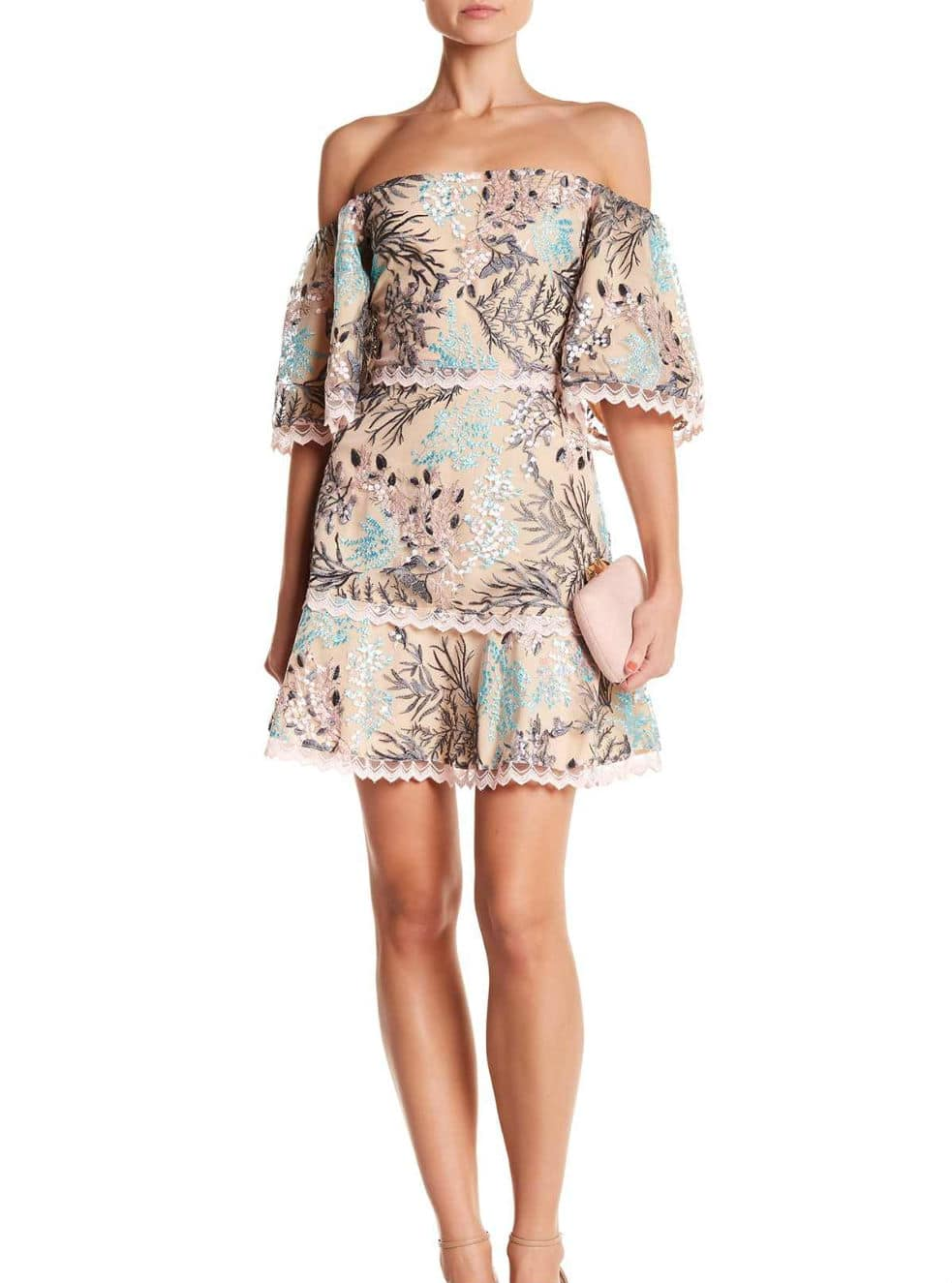 floral petite dress (Petite Dressing)