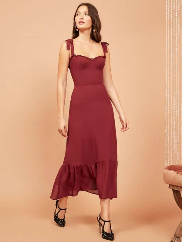 maxi dress for petite women