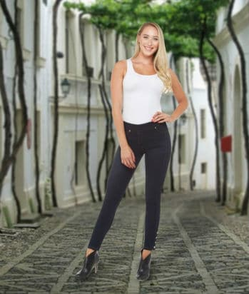 high rise petite jeans