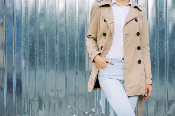 petite size trench coats