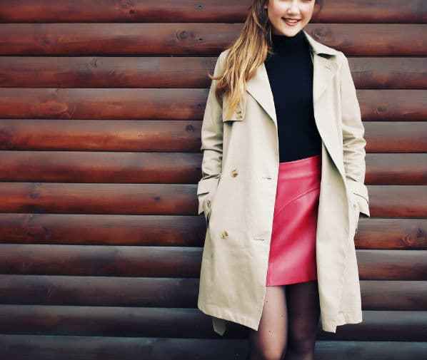 how to style trench coat for petites