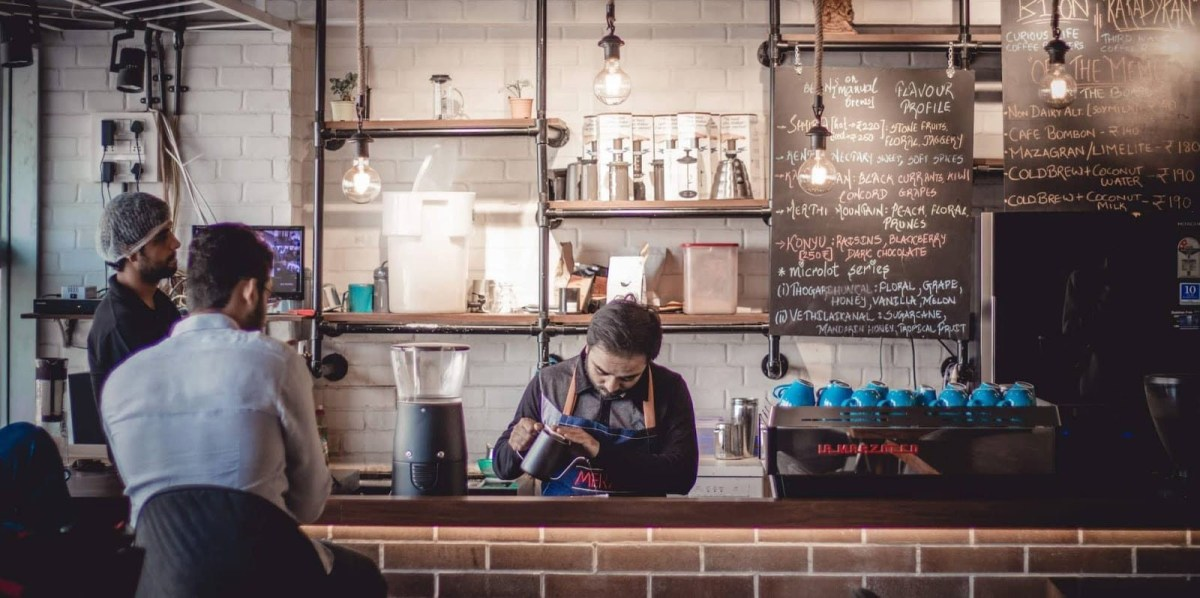 Brewing coffee - Petpoojha