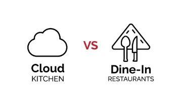 cloud kitchen vs dine in