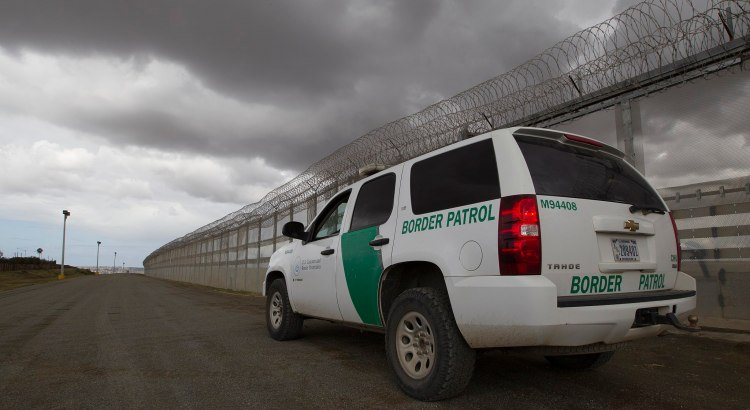 border patrol truck