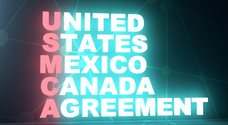 "A graphic that reads ""United States Mexico Canada Agreement"""