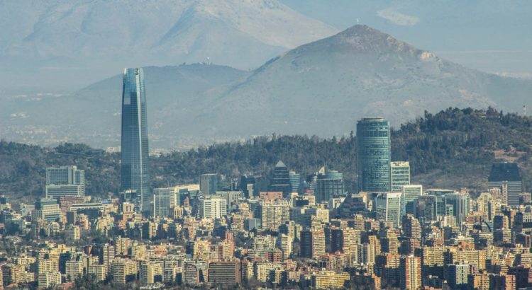 Downtown Santiago, Chile.