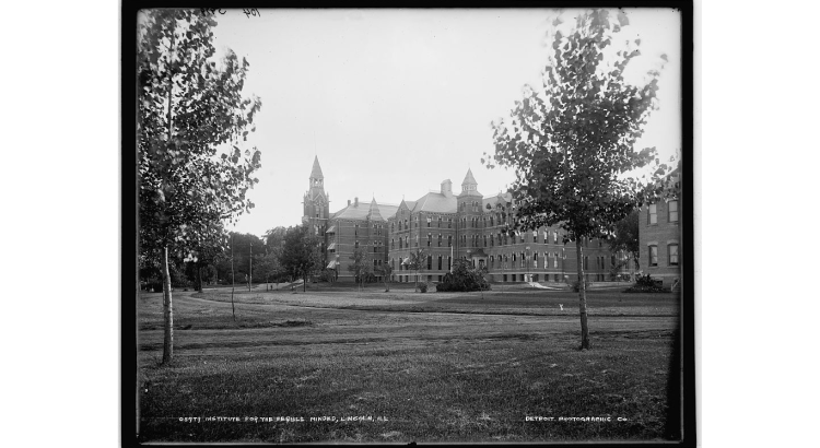 (Institute for the feeble-minded, Lincoln, Ill. / Library of Congress)