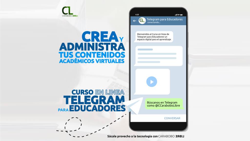 """2do Taller en Linea """"Telegram para Educadores"""""""