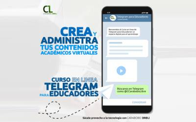 "2do Taller en Linea ""Telegram para Educadores"""