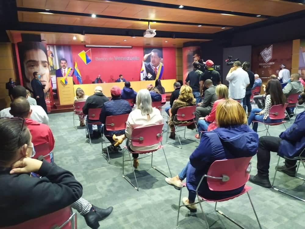 Encientro Presidente de Banco de Venezuela (BDV), Jose Morales con autoridades de la Sunacrip y la Sudeban