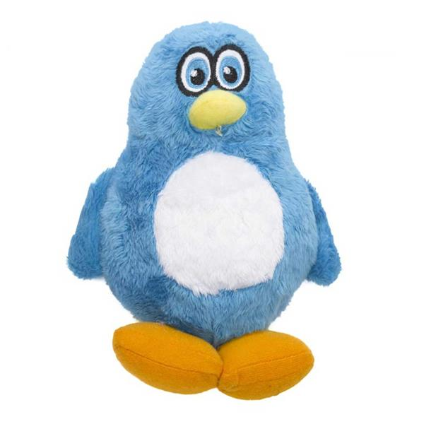 penguin dog toy