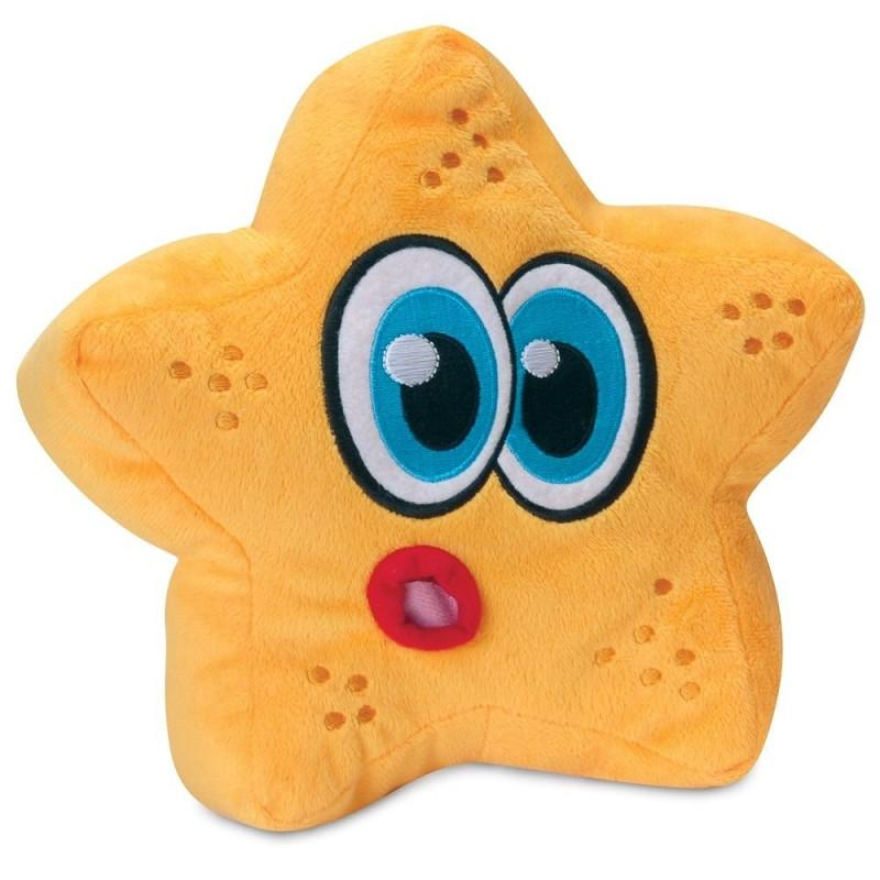 star fish dog toy