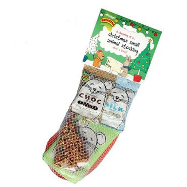 Small Animal Christmas Stocking