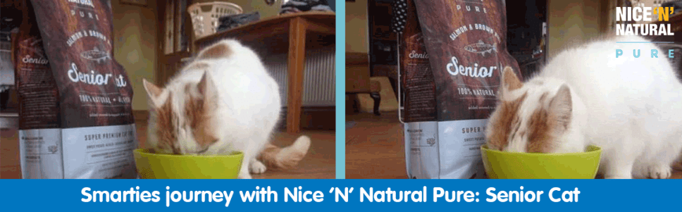 Smartie's journey with Nice 'N' Natural Pure