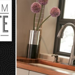 Slate Kitchen Faucet Cabinet With Trash Bin Win A Dream Pfister Faucets Bath Design Blog