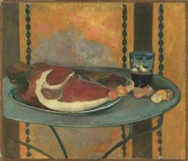 Paul Gauguin, The Ham, 1889. Oil on canvas, 19 3/4 x 22 3/4 in. Acquired 1951.