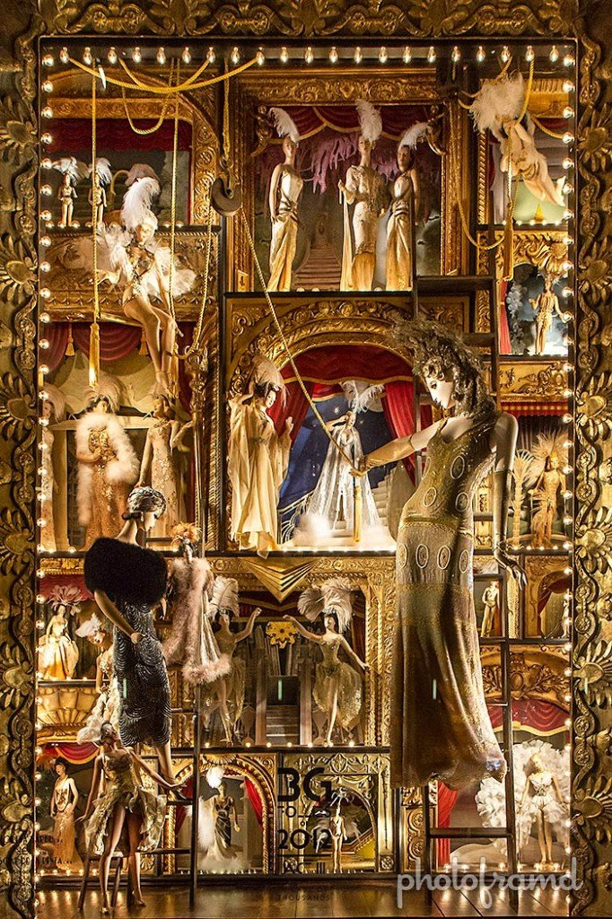 Christmas Windows NYC 2012 Bergdorf Goodman Best