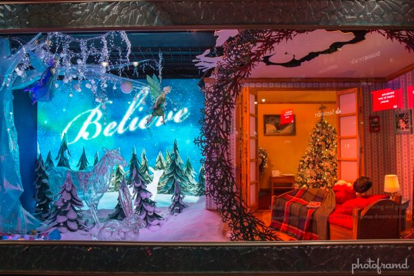 Macys Herald Square NYC Christmas Window Display 2013