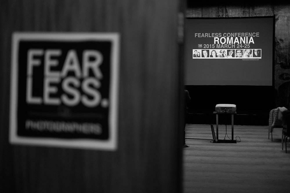 Conferina Fearless Bucuresti 2015, foto : Dan Malureanu