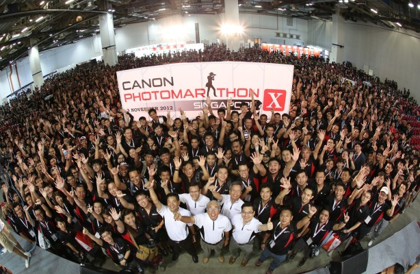 Canon PhotoMarathon X 2012 with 2419 participants