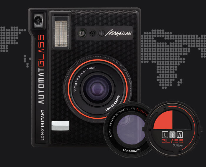 The Lomo'Instant Automat Glass