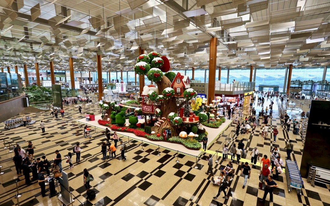 Celebrate Christmas at Changi Airport Mystical Garden