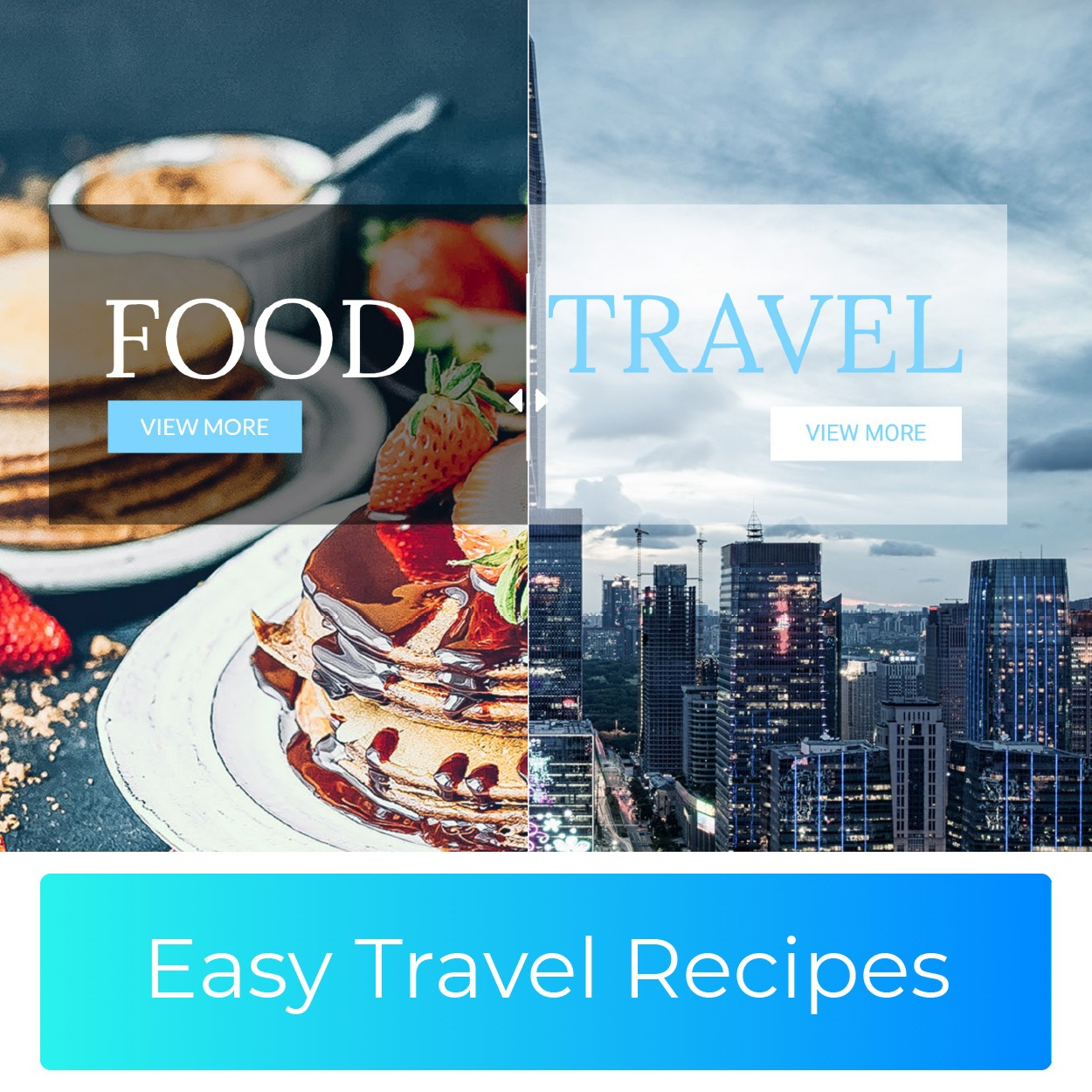 Easy Travel Recipes: One-stop Lifestyle Portal for Travel and Cooking