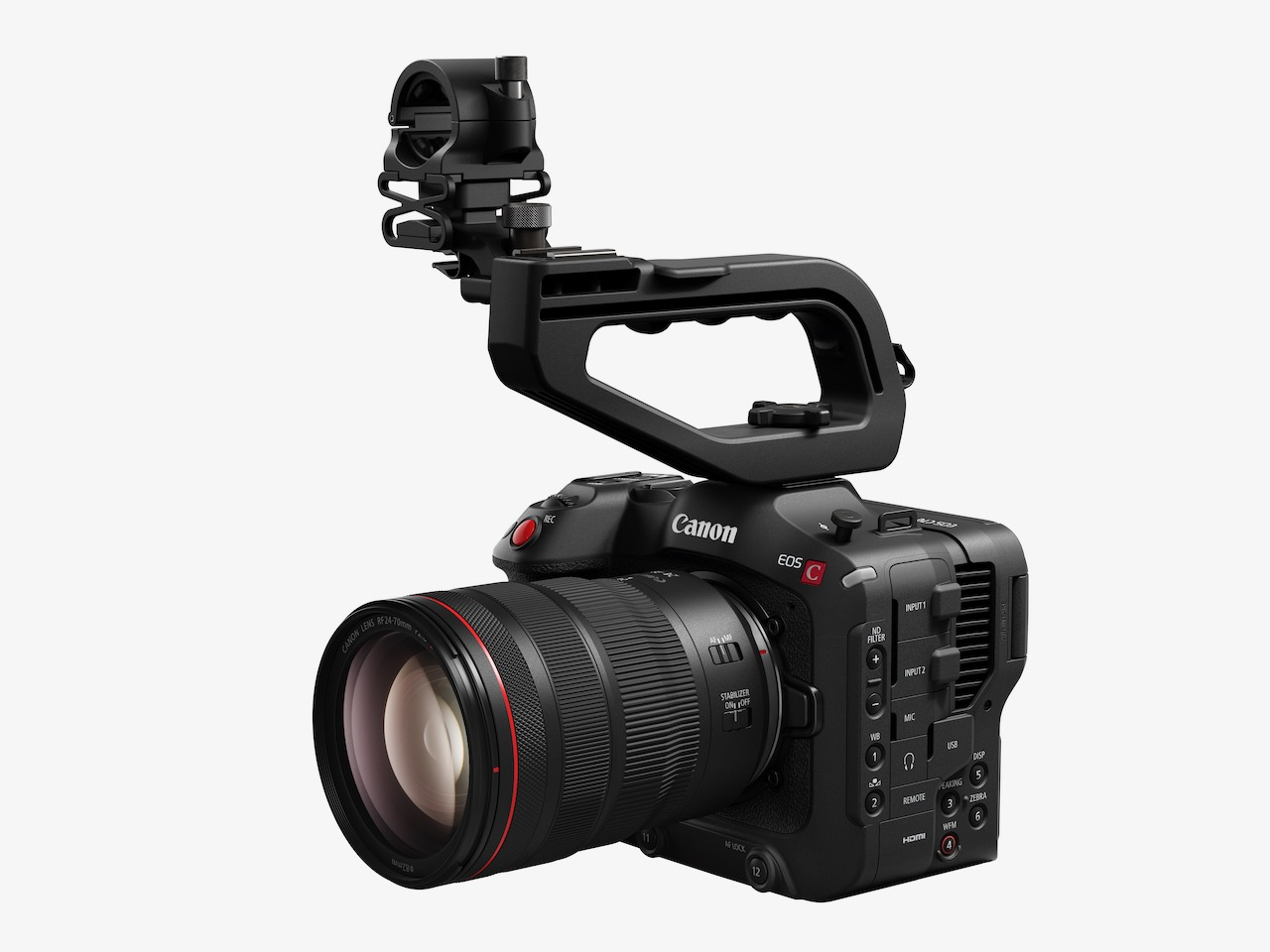 Canon announced EOS C70