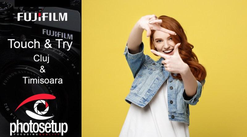 Sesiune de testare Fujifilm la Cluj si Timisoara