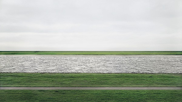 Andreas Gursky's Rhine II sold for $4.2m - the most expensive photo ever.