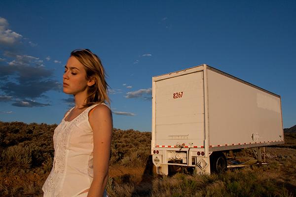 Photo by Sarah Jacobs - self portrait, Taos New Mexico
