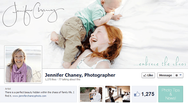 Jennifer Chaney on Facebook