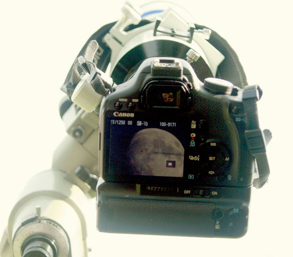 Sebastien Lebrigand's camera set up