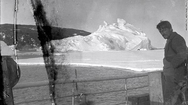 Photo courtesy of The Antarctic Heritage Trust
