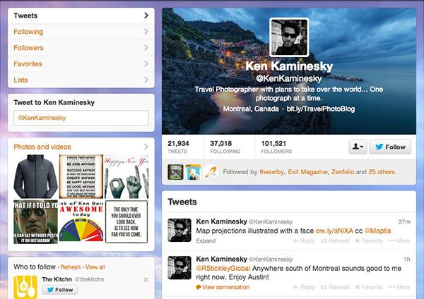 Ken K Twitter