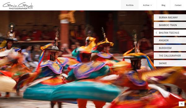 Website by Travel Photographer Gavin Gough