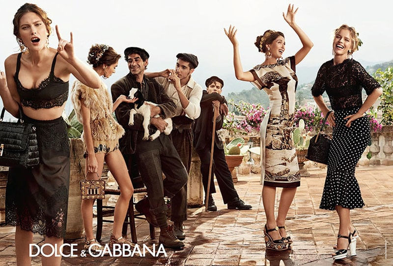 Dolce & Gabbana S/S 2014. Photo by Domenico Dolce