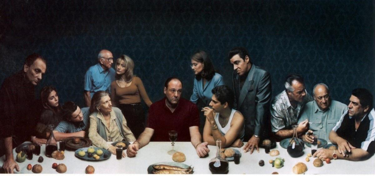 The Soprano's Last Supper Annie Leibovitz