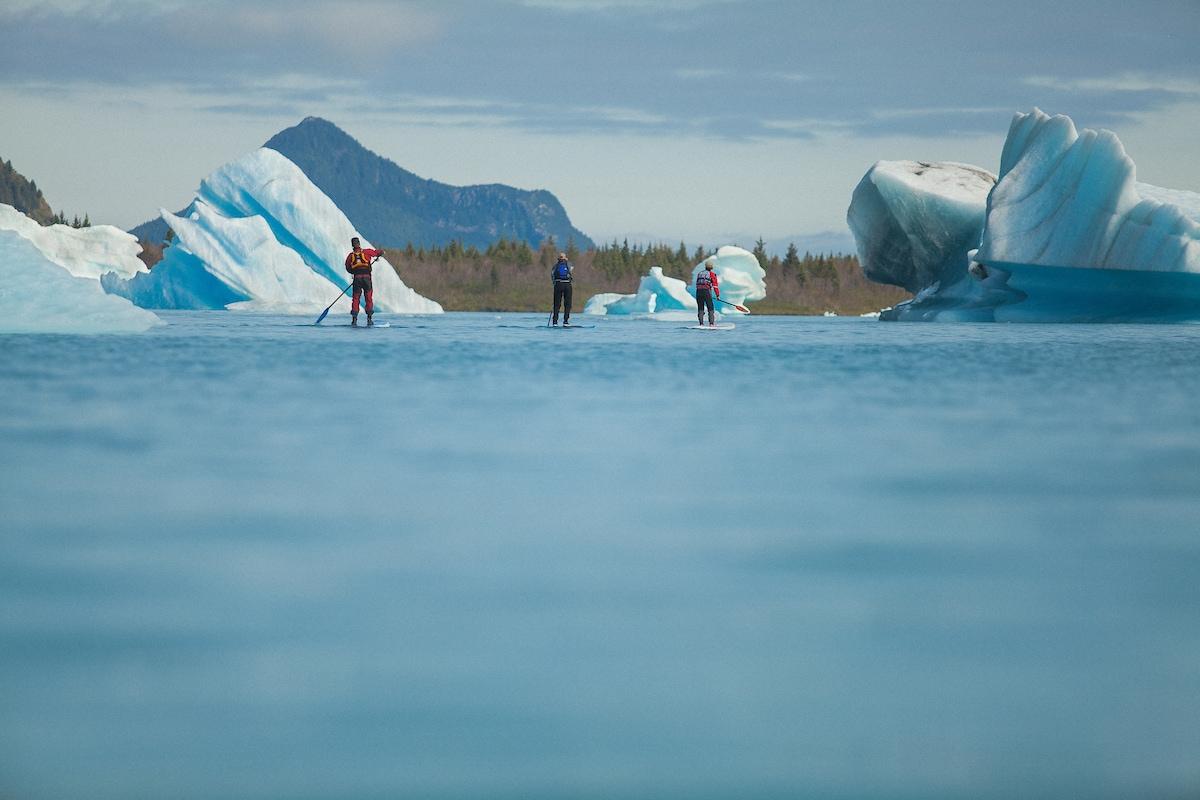 SUP in Alaska