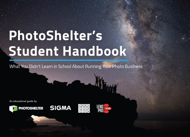 PhotoShelter's Student Handbook: What You Didn't Learn in School About the Photo Biz - PhotoShelter Blog