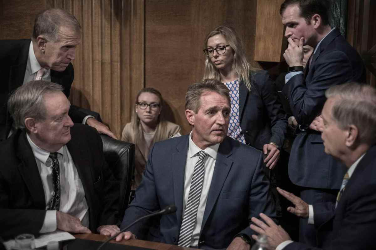 Why David Butow's Image of Jeff Flake Stands Out - PhotoShelter Blog