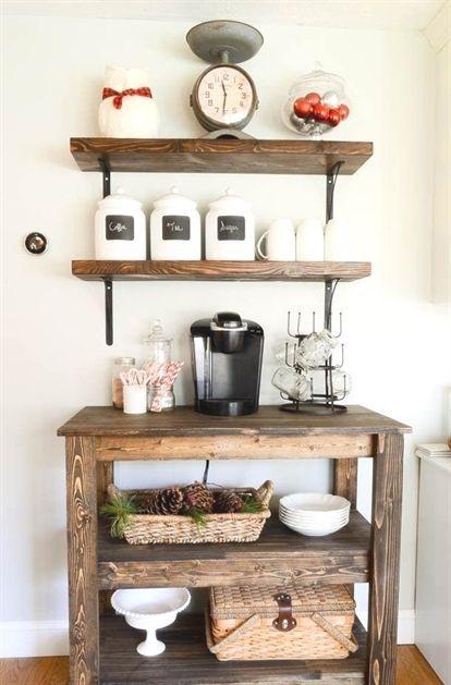 Prendete spunto dalle nostre idee per un angolo bar in casa! Coffee Bar L Angolo Caffe A Casa Tua