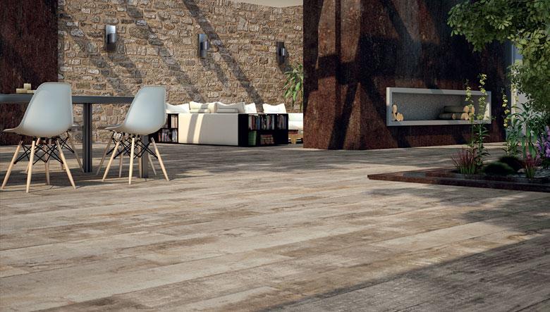Gres porcellanato effetto legno  SPAZIO soluzioni